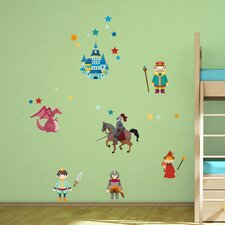 Castle 28 Piece Wall Decal Set