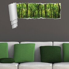 Forest Funny Panoramic Wall Decal
