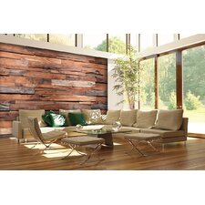 Reclaimed Wood Wall Mural