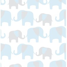 Elephant Parade Peel And Stick Wallpaper