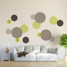 Dots 15 Piece Wall Decal Set