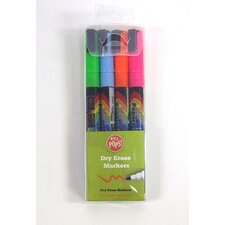 Dry Erase Assorted Liquid Chalk Marker (Pack of 4) (Set of 4)