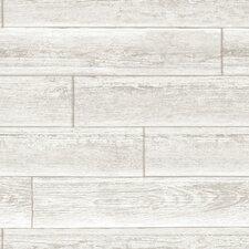 "Serene Peel and Stick 18' x 20.5"" Brick Wallpaper"