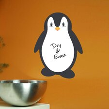 Home Decor Line Penguin Whiteboard Wall Decal