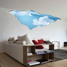 Home Decor Line Break in the Sky Wall Decal
