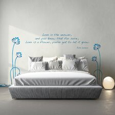 Home Decor Line Love Quote Wall Decal (Set of 2)