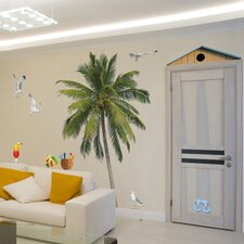 Home Decor Line Summer Palm Wall Decal