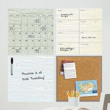 Weathered Organization Kit Wall Decal