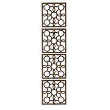 "63"" x 15.75"" Siam 4 Panel Room Divider (Set of 4)"