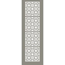 "63"" x 15.75"" Medina 4 Panel Room Divider (Set of 4)"