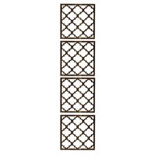 "63"" x 15.75"" Marrakech 4 Panel Room Divider (Set of 4)"
