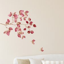 Home Decor Line Pink Watercolor Wall Decal