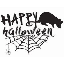 Happy Halloween Wall Decal