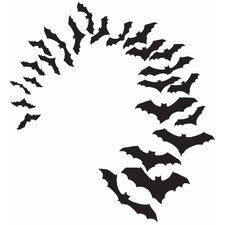 Little Bats Small Wall Decal