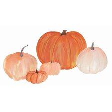 Pumpkins Small Wall Decal