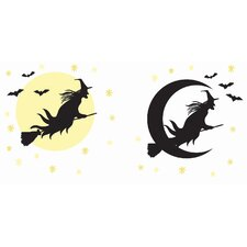 Witch Large Wall Decal