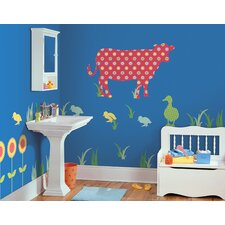 WallPops Kits ZooWallogy Dakota The Cow Wall Decal