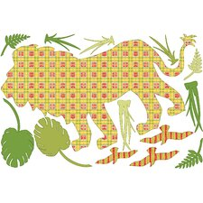 WallPops Kits ZooWallogy Ozzie The Lion Wall Decal