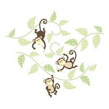 Wall Art Kit Monkeying Around Wall Decal