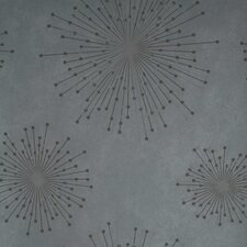 "Verve Starburst 33' x 20.5"" Abstract 3D Embossed Wallpaper"