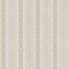 "Satin Rose 33' x 20.5"" Stripes 3D Embossed Wallpaper"
