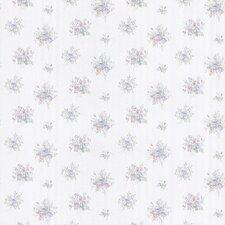 "Satin Rose 33' x 20.5"" Floral Toss 3D Embossed Wallpaper"