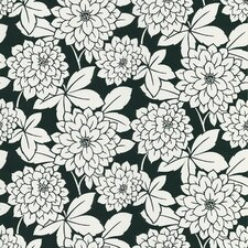 "Ink 33' x 20.5"" Zinnia 3D Embossed Wallpaper"