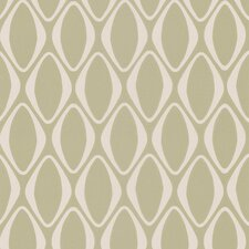 "Echo Design Diamond 33' x 20.5"" Geometric 3D Embossed Wallpaper"