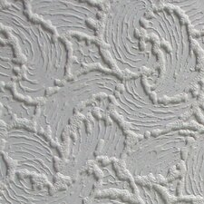 """Anaglypta Paintable 33' x 20.5"""" Abstract 3D Embossed Wallpaper"""