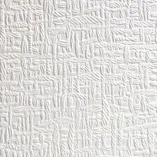 """Anaglypta Paintable Kingston 33' x 20.5"""" Abstract 3D Embossed Wallpaper"""