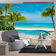 Ideal Decor Pool Wall Mural