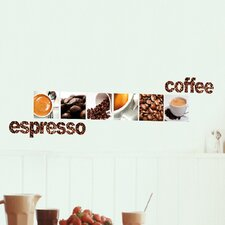 Euro Coffee Wall Decal