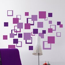 Euro Squares Wall Decal