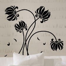 Euro Flowers Wall Decal