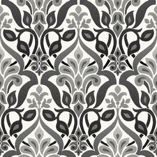 "Simple Space II Fusion Ombre 33' x 20.5"" Damask 3D Embossed Wallpaper"