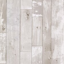 "Kitchen & Bath Resource III Heim 33' x 20.5"" Wood 3D Embossed Wallpaper"
