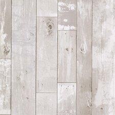 """Kitchen & Bath Resource III Heim 33' x 20.5"""" Wood 3D Embossed Wallpaper"""