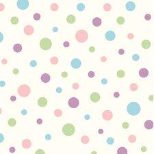 Borders by Chesapeake Dotty Toss 16.5' x 20.5'' Polka Dot Wallpaper