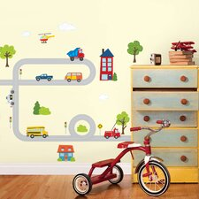 WallPops Around Town Large Wall Decal Kit