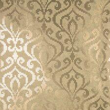 "Sparkle Venus Foil Mini 33' x 20.5"" Damask 3D Embossed Wallpaper"