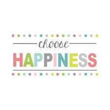 WallPops Choose Happiness Wall Decal