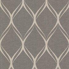 "Platinum Gustav 33' x 20.5"" Geometric Wallpaper"