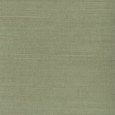 "Zen Kenjitsu Grasscloth 24' x 36"" Gingham Wallpaper"