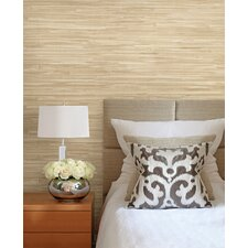 "Jade Martina Grasscloth 24' x 36"" Wallpaper"