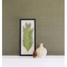 "Jade Valeria Grasscloth 24' x 36"" Wallpaper"