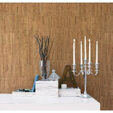 "Jade Misha Wall Cork 33' x 20.5"" Abstract Wallpaper"