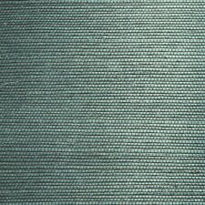 "Jade Thanos Grasscloth 24' x 36"" Gingham Wallpaper"