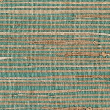 "Keiko Grasscloth 24' x 36"" Solid Roll Wallpaper"