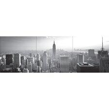 Euro New York Panoramic Wall Decal Mural