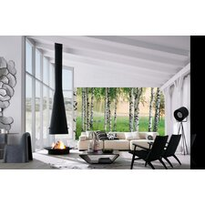 Ideal Decor Nordic Forest Large Wall Mural